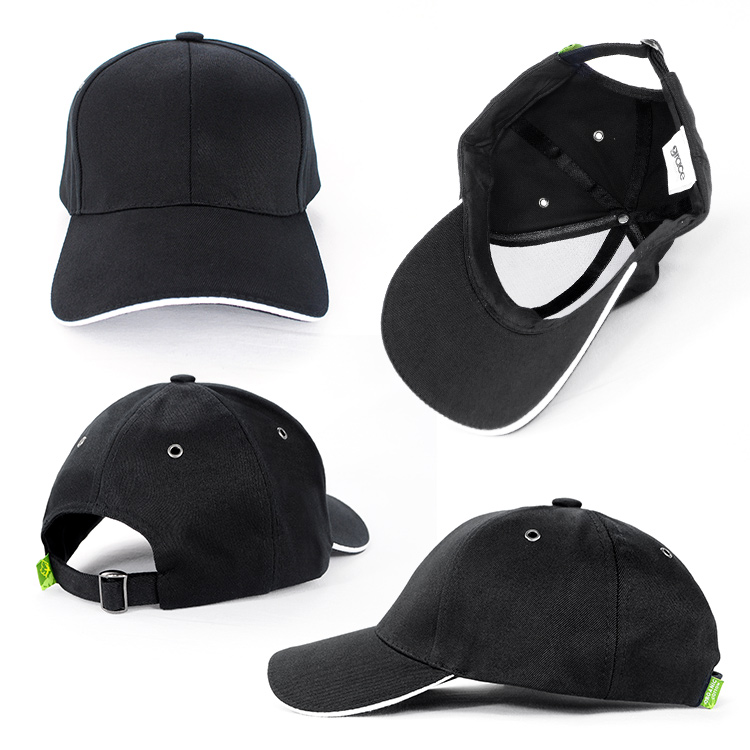 These sandwich peak caps come in a large range of colours and the Sandwich inserrt adds to the appeal of the cap.