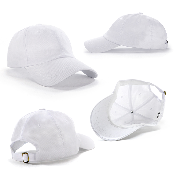 Similar to washed headwear. No stiffining in the peak gives a relaxed look